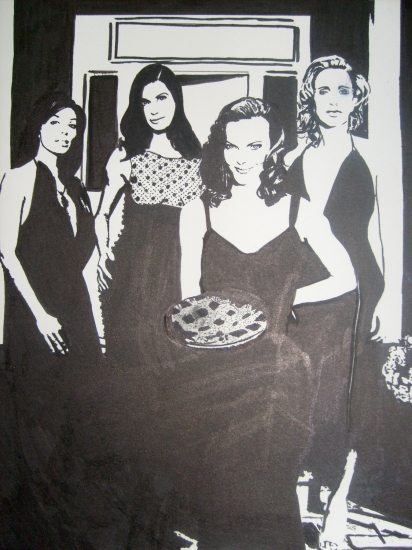 Marcia Cross, Felicity Huffman, Teri Hatcher, Eva Longoria by HelenaFan